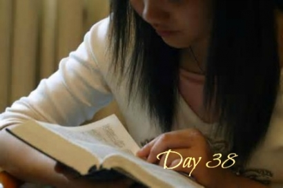 Girl reading-day38